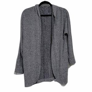 American Eagle Soft & Sexy Plush Hooded Cardigan